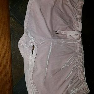 Pants - Shiny fluffy shorts FEMALE XL in size